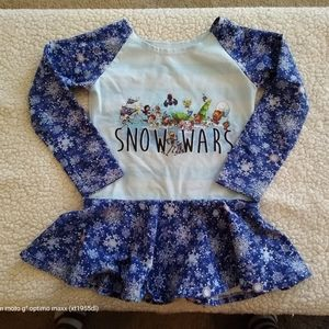 Girls handmade tunic